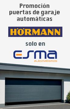 Promoción puertas de garaje seccionales Hormann