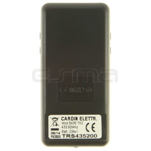 Mando garaje CARDIN TRS435200