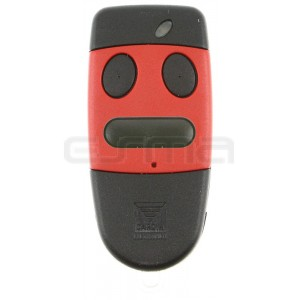 Mando garaje CARDIN S486-QZ3 rojo