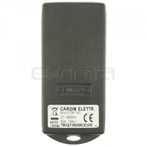 Mando garaje CARDIN S738-TX24
