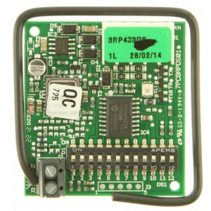 Receptor enchufable FAAC RP 433DS