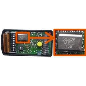 mando de garaje NICE K1M 30.875 MHz