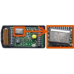 mandos NICE K4M 26.995 MHz