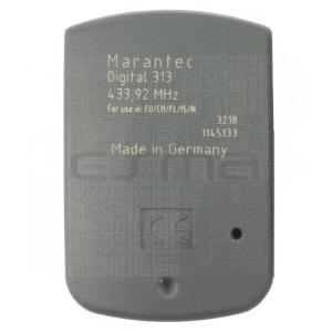 Mando garaje MARANTEC D313-433 parte trasera
