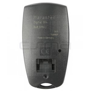 Mando garaje MARANTEC D304-868 parte trasera