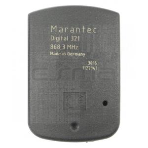Mando a distancia MARANTEC D321-868 parte trasera