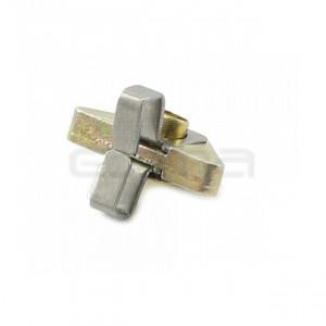 Pieza triangular metálica para correas MARANTEC
