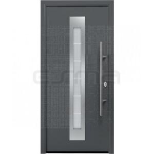 Puerta de entrada Hormann ThermoPro TPS 010 blanca
