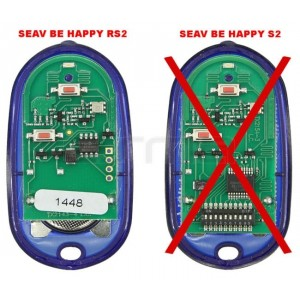Mando garaje SEAV Be Happy RS2 433