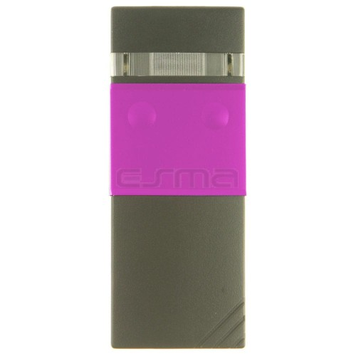 Mando garaje CARDIN S48-TX2 rosa 30.875 MHz