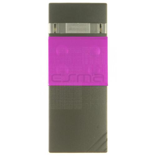 Mando garaje CARDIN S48-TX4 rosa 30.875 MHz