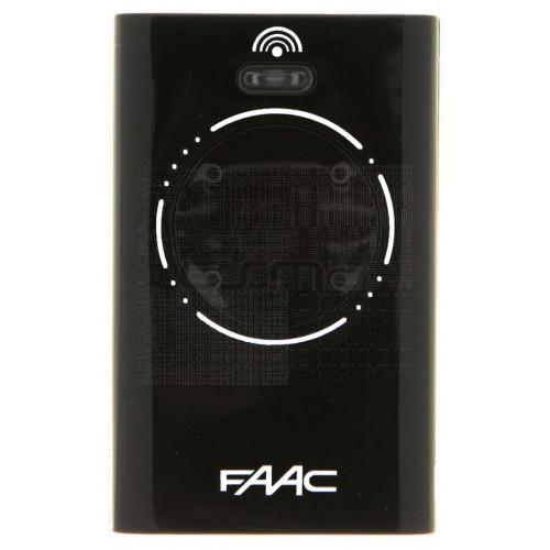 Mando garaje FAAC XT4 868 SLH Black