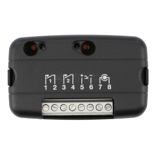 Receptor TELCOMA RB 2 Noire Parte frontal
