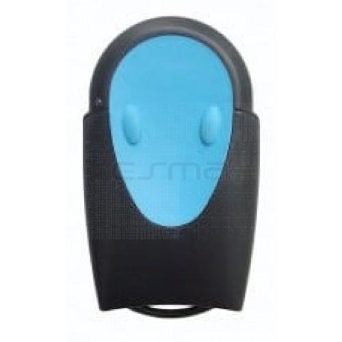 Mando garaje TELECO TXR-433-A01 blue