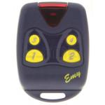 Mando garaje PROGET EMY 4F 433 - Programación en el receptor