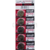 Pack pilas MAXELL CR2450