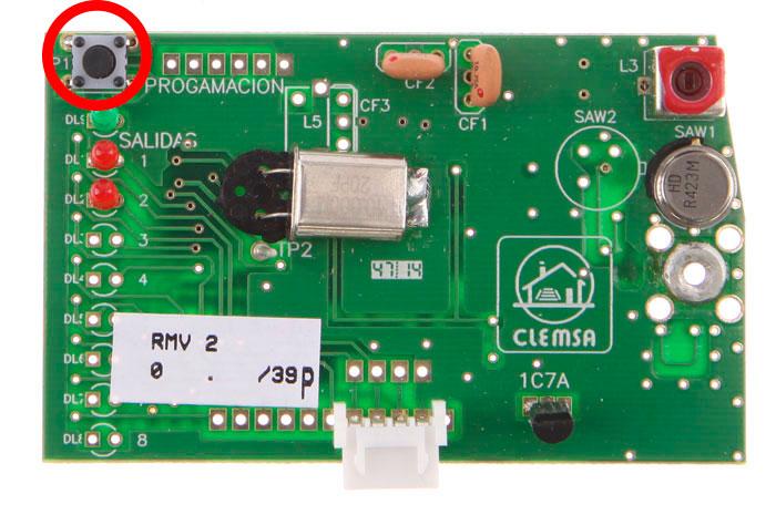 Placa receptora clemsa RMV 2