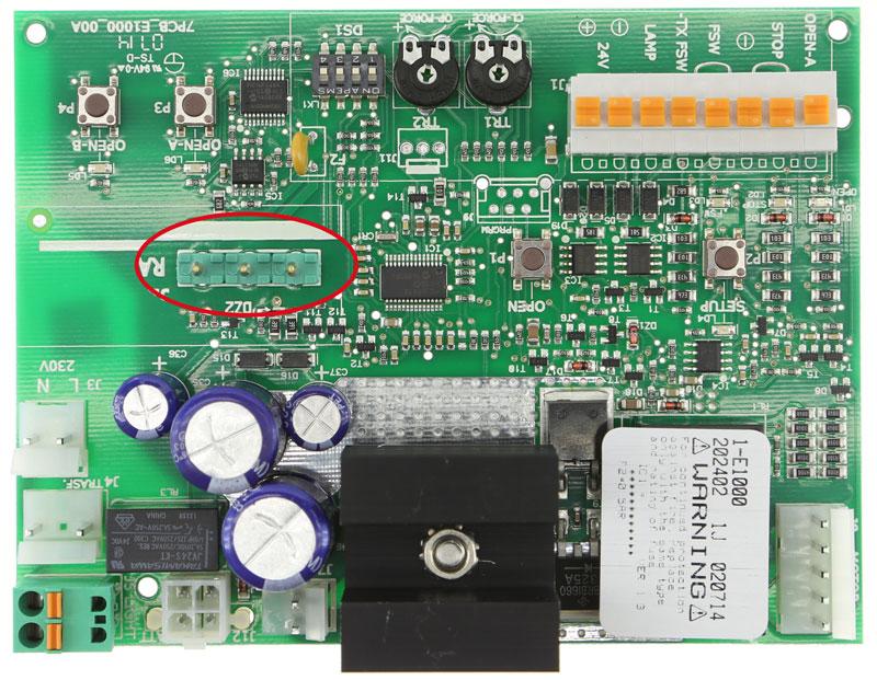 Placa Faac E1000