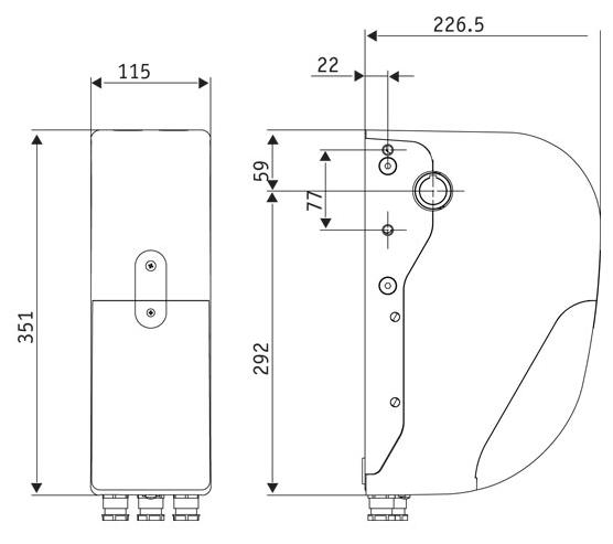 Motor para puertas seccionales BFT ARGO