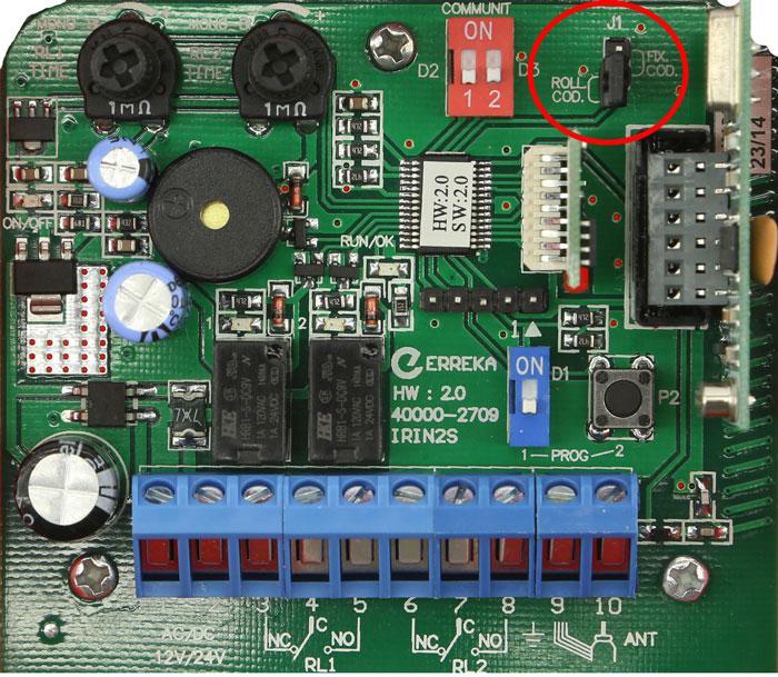 Receptor Erreka IRIN2 250