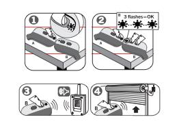 Instrucciones de grabación de los mandos JCM go mini