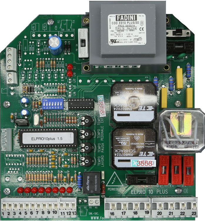 Placa Fadini Elpro 10 plus