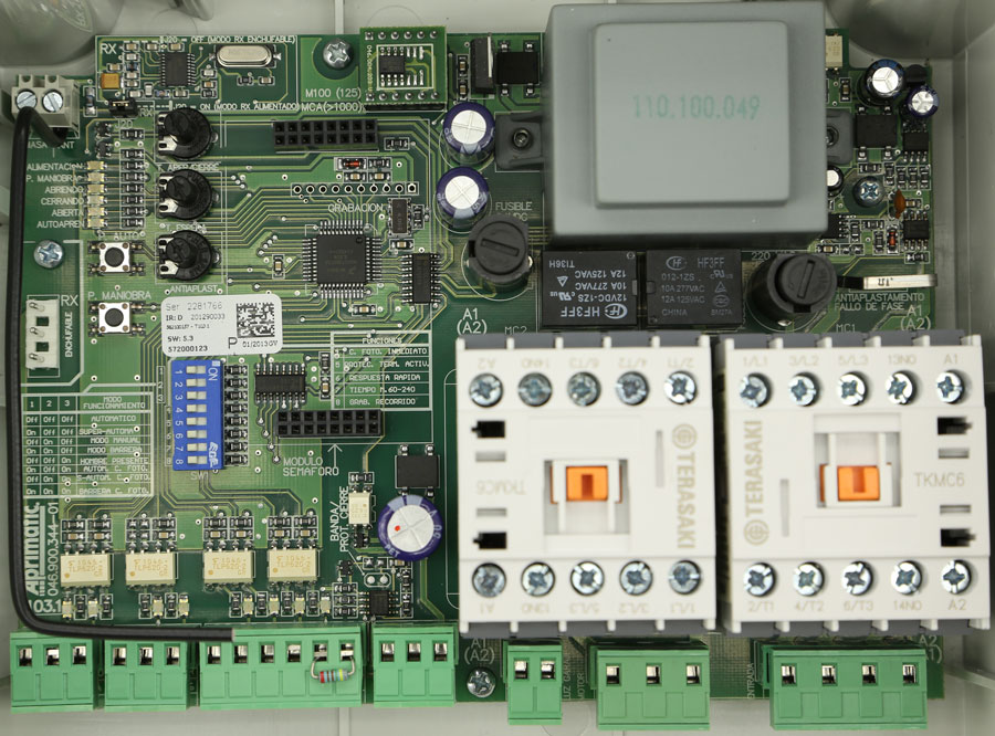 Placa Aprimatic T103.1
