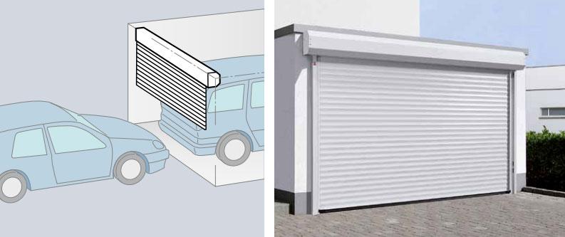 Imagen puertas de garaje