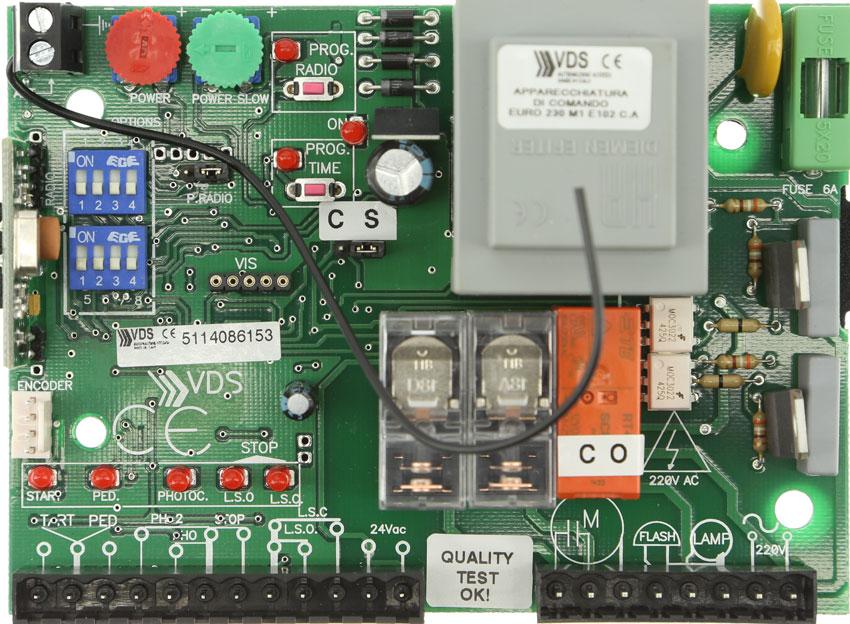 Placa VDS Euro230 M1