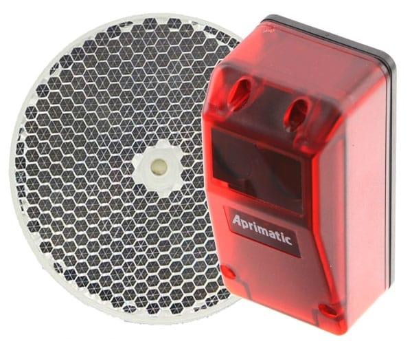 Fotocélulas Aprimatic E25P para puertas de garaje