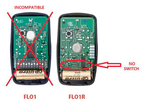 flo 1R vr flo1 no compatible