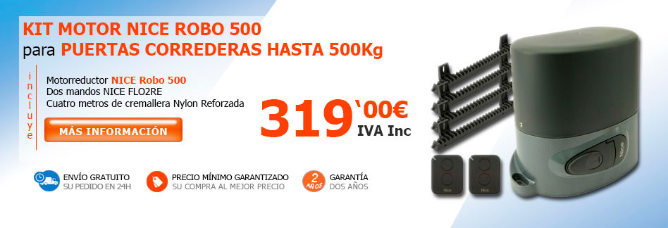 Corredera Nice Robo500