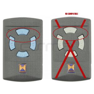 Mando garaje HÖRMANN HSM4 868 MHz no compatible con mando de botones grises