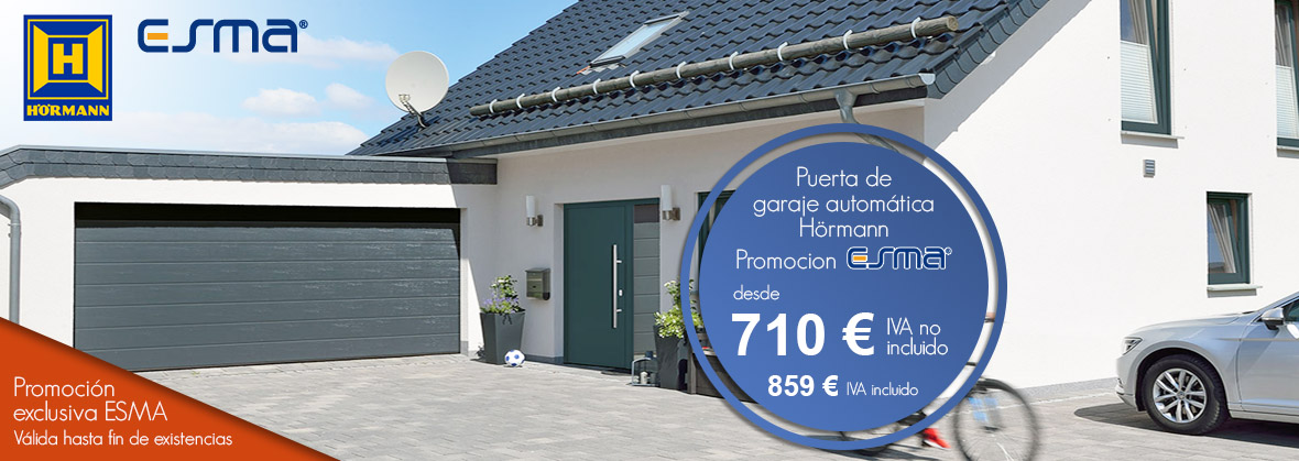 promoción puertas garaje